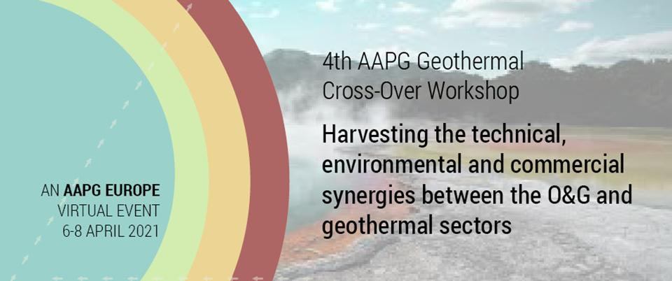 Ian Cogswell to present at the 4th AAPG Geothermal Cross-Over Workshop